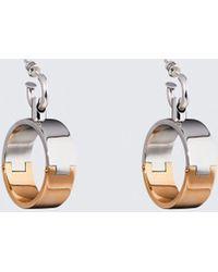 Alexander Wang | Bi-color Hoop Earrings | Lyst