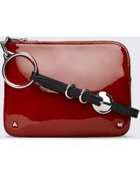 Alexander Wang - Patent Ace Small Wristlet - Lyst