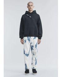 Alexander Wang - Bleached Denim Pants - Lyst
