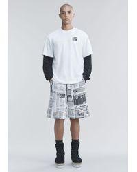 Alexander Wang - Ny Post T-shirt - Lyst