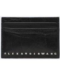 Alexander Wang - Black Dime Card Case - Lyst