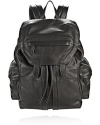 Alexander Wang - Marti Backpack In Washed Black With Matte Black - Lyst