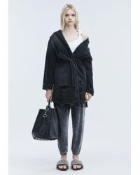 Alexander Wang - Short Distressed Robe - Lyst