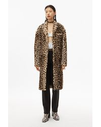 Alexander Wang Cheetah Print Robe Coat - Natural