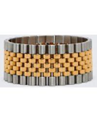 Alexander Wang Watch Band Bracelet - Metallic