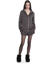 Alexander Wang - Long Sleeve Striped Pyjama Top - Lyst