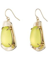 Alexis Bittar | Liquid Gold Lucite Wire Earring You Might Also Like | Lyst