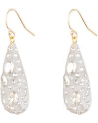 Alexis Bittar Diamond Dust Dewdrop Earring - Metallic