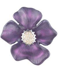 Alexis Bittar Georgian Flower Pin - Multicolour