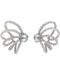 Alexis Bittar Crystal Lace Orbiting Post Earring - Multicolour