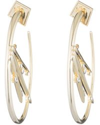 Alexis Bittar | Satellite Crystal Spike Hoop Earring You Might Also Like | Lyst