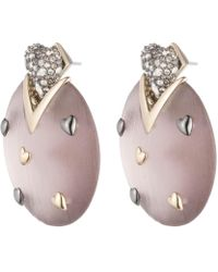 Alexis Bittar - Heart Stud Post Earring You Might Also Like - Lyst