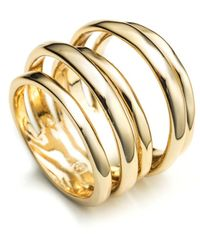 Alexis Bittar Layered Ring - Metallic