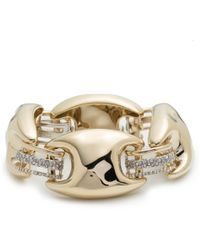 Alexis Bittar - Crystal Encrusted Liquid Gold Link Soft Bracelet You Might Also Like - Lyst