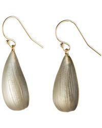 Alexis Bittar Dewdrop Earring - Gray