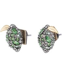Alexis Bittar - Crystal Encrusted Lime Post Earring You Might Also Like - Lyst