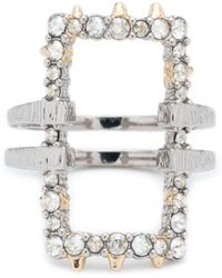 Alexis Bittar - Crystal Encrusted Oversize Link Ring You Might Also Like - Lyst