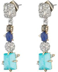 Alexis Bittar - Crystal Accented Fancy Stone Dangling Post Earring You Might Also Like - Lyst
