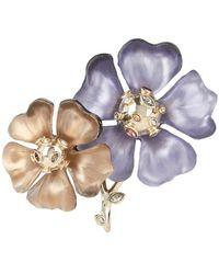 Alexis Bittar Sputnik Double Flower Pin - Multicolour