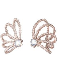 Alexis Bittar - Crystal Lace Orbiting Post Earring You Might Also Like - Lyst