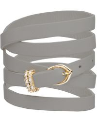 Alexis Bittar - Multi Wrap Leather Bracelet You Might Also Like - Lyst