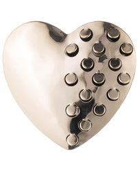 Alexis Bittar - Domed Heart Grater Pin You Might Also Like - Lyst