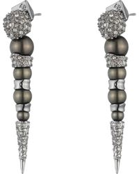Alexis Bittar | Crystal Encrusted Dangling Pearl Post Earring You Might Also Like | Lyst