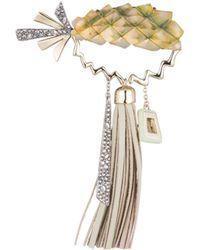 Alexis Bittar - Pineapple Leather Tassel Pin You Might Also Like - Lyst