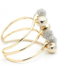 Alexis Bittar - Crystal Encrusted Interlocking Sphere Cuff Bracelet You Might Also Like - Lyst