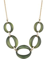 Alexis Bittar - Large Lucite Link Necklace - Lyst