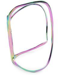 Alexis Bittar Pvd Liquid Hinge Bracelet - Multicolour