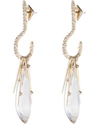 Alexis Bittar - Crystal Encrusted Post Earring - Lyst