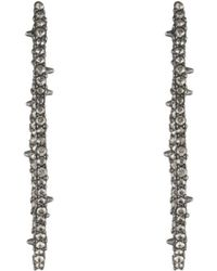 Alexis Bittar - Crystal Encrusted Abstract Thorn Post Earring - Lyst
