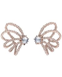 Alexis Bittar Crystal Lace Orbiting Post Earring You Might Also Like - Multicolour