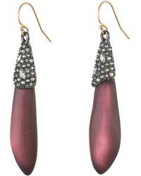 Alexis Bittar - Crystal Encrusted Drop Earrings - Lyst