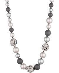 Alexis Bittar - Mosaic Lace Pearl Single Strand You Might Also Like - Lyst