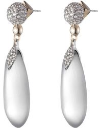 Alexis Bittar - Crystal Encrusted Dangling Lucite Post Earring You Might Also Like - Lyst