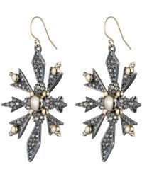 Alexis Bittar | Crystal Encrusted Snowflake Wire Earring You Might Also Like | Lyst