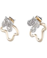 Alexis Bittar - Crystal Encrusted Post Earring With Freeform Jacket - Lyst