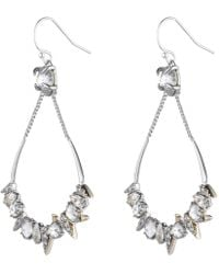 Alexis Bittar | Crystal Encrusted Mosaic Futuristic Tear Earring You Might Also Like | Lyst