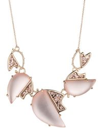 Alexis Bittar - Abstract Tulip Glitter Large Bib Necklace - Lyst