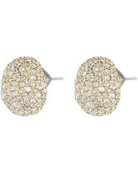 Alexis Bittar - Crystal Encrusted Button Post Earring You Might Also Like - Lyst