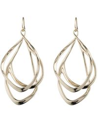 Alexis Bittar Liquid Gold Orbiting Wire Earring You Might Also Like - Metallic