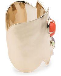 Alexis Bittar - Sculptural Stone Cluster Cuff Bracelet - Lyst