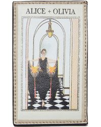 Alice + Olivia Elle Vintage Stace Card Case