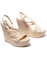 Alice + Olivia Tenley Wedge - Natural