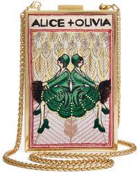 Alice + Olivia - Sophia Twins Clutch - Lyst