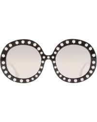 Alice + Olivia - Bel Air Sunglasses - Lyst