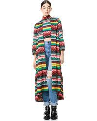 Alice + Olivia Dottie Reversible Kimono - Multicolor