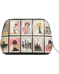 Alice + Olivia - Nikki Vintage Stace Collage Cosmetic Case - Lyst